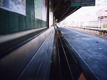世田谷代田の駅にて