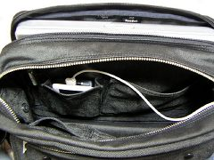 iPod用のポケット側