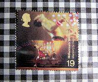 英国ミレニアム切手フレディ