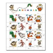 絵本切手アメリカ版