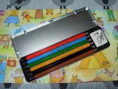 コヒノールの色鉛筆セット