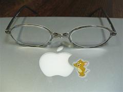 999.9で新調したメガネ