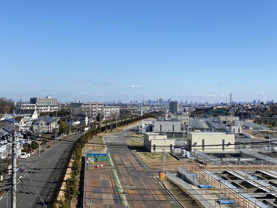 Z坂から東の眺め