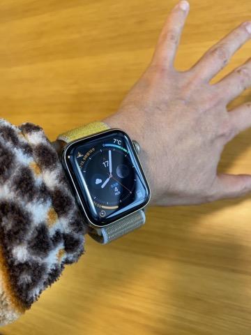 Apple Watch装着