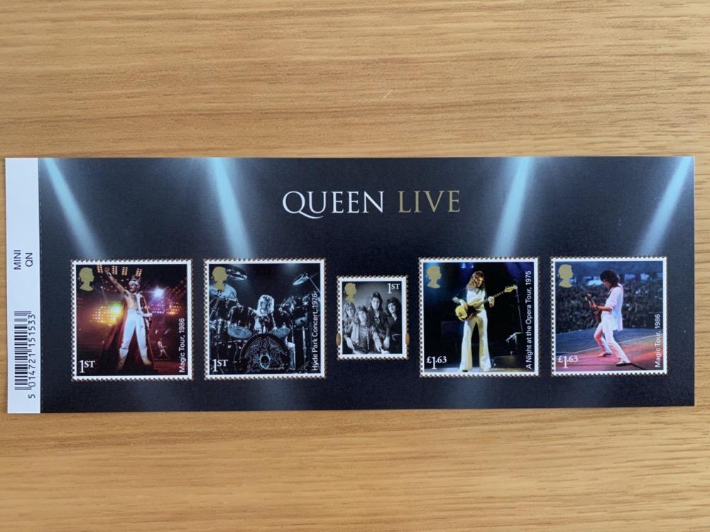 Queenメンバー切手