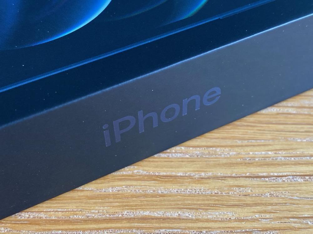iPhone 12 Pro パッケージ