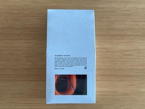ヨセミテストラップのパッケージ