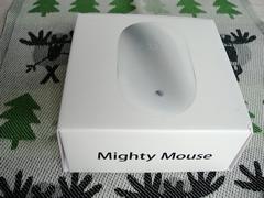 ワイヤレスMighty Mouseの箱