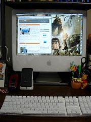 セットしたiMac G5