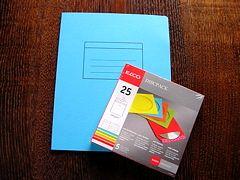 elcoのノートとCDケース