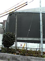 建築中の謎の建物