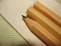 東京都産ひのき鉛筆