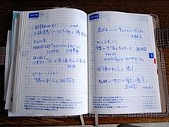 ほぼ日手帳2008 私の中身公開