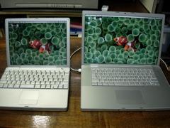 PowerBookとの比較