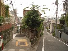 日無坂と富士見坂