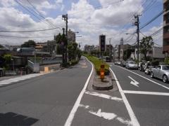 松見坂の交差点