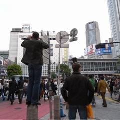 渋谷のガイジンさん