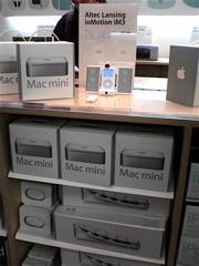 AppleStoreでのMacmini