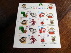 UPSPの絵本切手